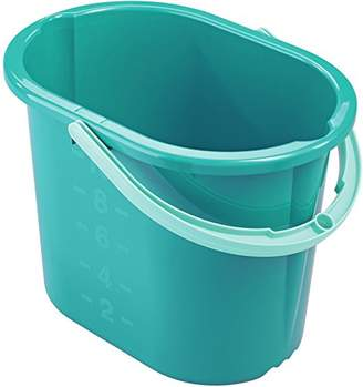 Leifheit Picobello Bucket, Blue, 15.4 x 9.2 x 29.5 cm