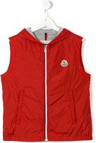 Moncler zipped vest - kids - Polyamide/Cotton - 14 yrs