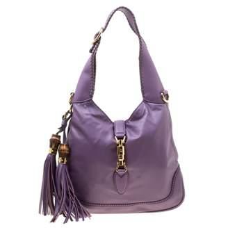 Gucci Purple Leather Handbags