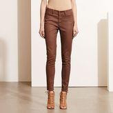 Ralph Lauren Premier Coated Skinny Jean
