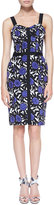 uncategorized  Who made Dianna Agrons purple floral print dress and black sunglasses that she wore in Los Angeles on September 4, 2014?