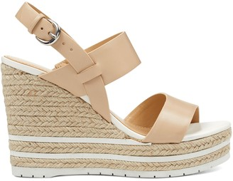 Nine West Alivia Open Toe Wedge Sandals