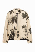 Paul & Joe Floral-Print Bomber Jacket