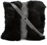 Laura B soft maxi shoulder bag
