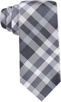 Alfani Spectrum Men's Sunset Plaid Slim Tie, Only at Macy's