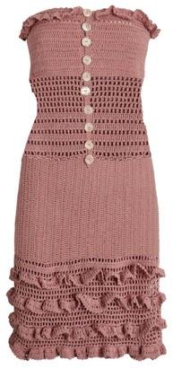 She Made Me Saachi Crochet Dress