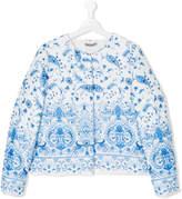 Ermanno Scervino floral print jacket