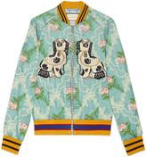Gucci Floral jacquard bomber