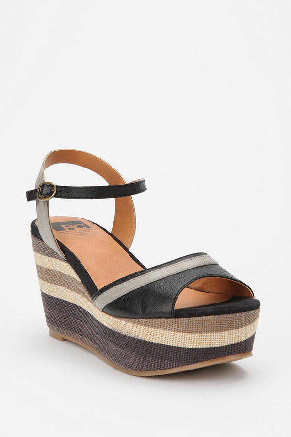BC Footwear Over The Rainbow Wedge
