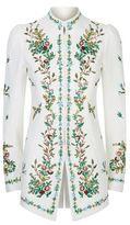 Andrew Gn Pastoral Embellished High Neck Jacket