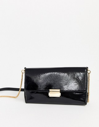 Pimkie clasp front cross body in black