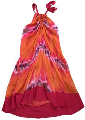 Matthew Williamson Orange Silk Dress for Women