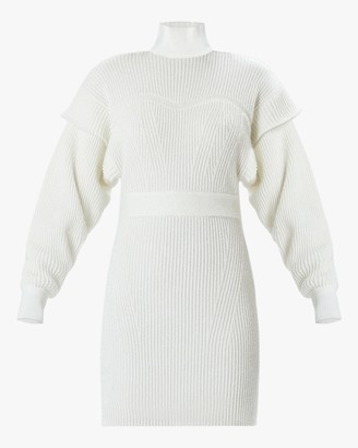 Herve Leger Tinsel Sweater Dress