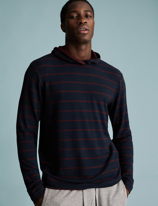 Marks and Spencer Supersoft Striped Hoodie