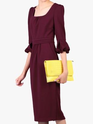Jolie Moi Pencil Midi Dress