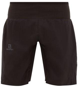 Salomon Trail Runner Waist-panel Shorts - Black