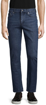 BLK DNM 5 Faded & Whiskered Jeans