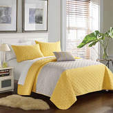 Chic Home Dominic 4-pc. Embroidered Quilt Set
