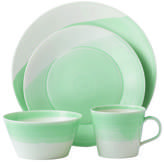 Royal Doulton Casual Green 4 Piece Place Setting