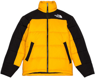 The North Face HMLYN Insulated Jacket in Summit Gold & TNF Black | FWRD