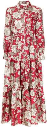 La DoubleJ floral print maxi dress