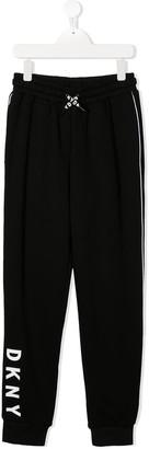 DKNY Logo-Print Track Pants