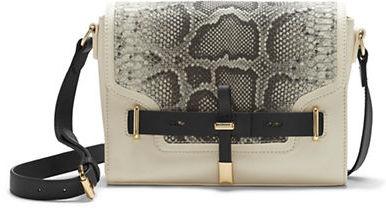 Vince Camuto Max Leather and Haircalf Crossbody Bag
