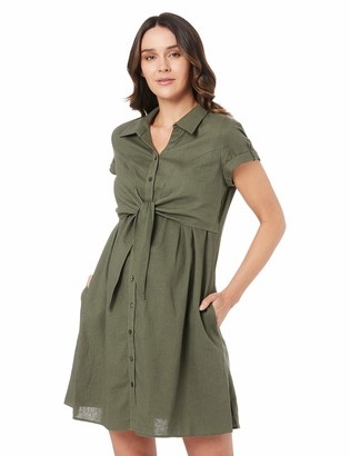 Ripe Maternity Women's Colette Tie Business Casual Dress