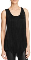 Three Dots Fringe Top