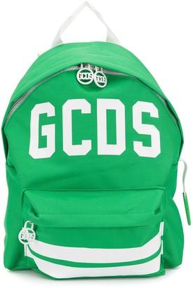 Gcds Kids Contrast Logo Print Backpack