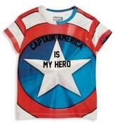 Eleven Paris Little Boy's & Boy's 'Captain America Is My Hero' Tee