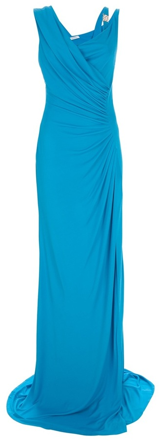 Versace sleeveless full length gown