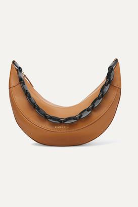 REJINA PYO Banana Leather Shoulder Bag - Brown