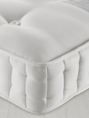 John Lewis & Partners Natural Collection Swaledale Wool 11400, Super King Size, Firm Tension Pocket Spring Mattress