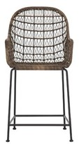 Bungalow Rose Morrissey Outdoor Woven Counter Stool