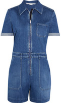Stella McCartney Denim Playsuit - Mid denim