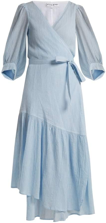 Apiece Apart Bougainvillea V-neck wrap dress