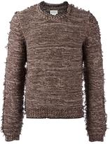 Maison Margiela raw edge knitted sweater