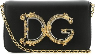 Dolce & Gabbana Girls Chain Crossbody Bag