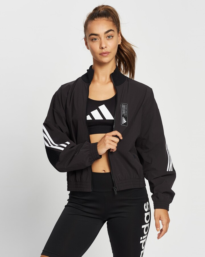 Thumbnail for your product : adidas Women's Black Jackets - Aeroknit Track Top - Size S at The Iconic