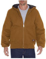 Dickies Men's Rigid Duck Hooded Jacket Tall