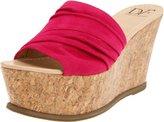 Diane von Furstenberg Women's Palm Wedge Sandal