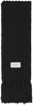 Gucci Bignabel Wool Blend Long Scarf