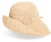 Helen Kaminski Women's 'Provence 10' Packable Raffia Hat - Grey