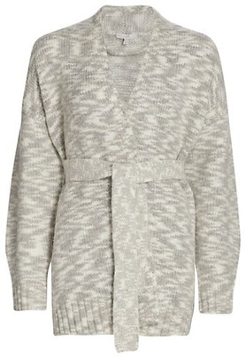 Joie Lavell Self-Tie Wrap Cardigan