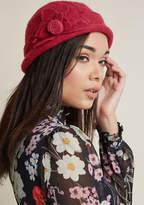 ModCloth Fleur de Glee Wool Hat