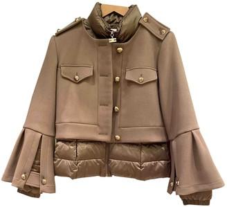 Elisabetta Franchi Green Jacket for Women