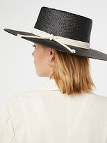 Free People Garden Grove Straw Boater