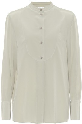 Loro Piana Lucia silk crepe blouse