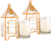 Seda France Grapefruit Paradis Mini Pagoda Candles (2 OZ) (Set of 2)